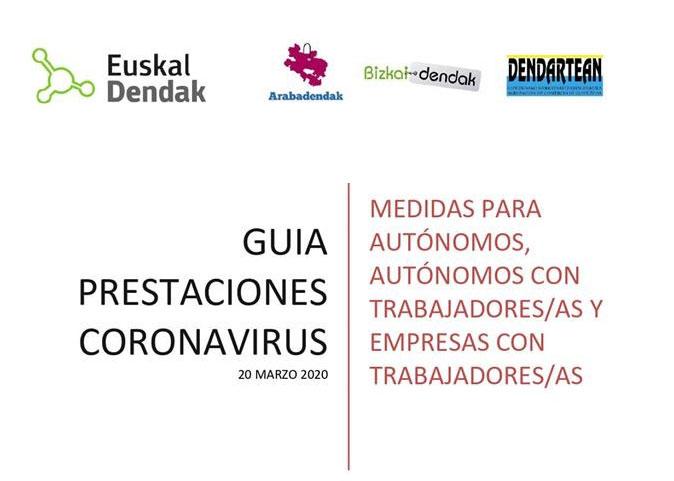 PROTOCOLO elaborado por EUSKALDENDAK para la aplicación de medidas para AUTONOMOS.